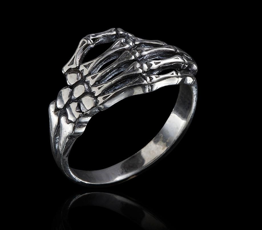 Кольцо Руки и Пальцы Скелета