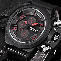 Кварцевые часы Xinew (black-red)