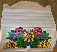 Хлібниці дерев'яні Розмальовані .