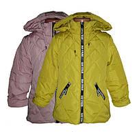 Куртка демисезонная для девочки р.128-152  L-1659