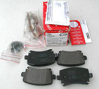 Гальмівні колодки задні без датчика (105.3х55.9х17.1mm) VW Caddy III 04- GDB1622 TRW (Німеччина)
