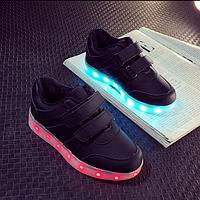 Светящиеся LED кроссовки для детей