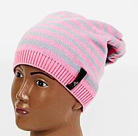 Детская шапка в полоску