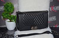 Качественная сумка Шанель.Черная.