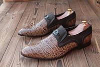 Мужские туфли лоферы Vittorio Virgili, 29 см, 43.5 размер. Код: 034.