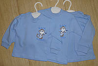 Кофточка детская голубая