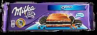 Шоколад молочный Milka Oreo (Милка c печеньем) 300г (Швейцария)