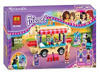 """Детский конструктор Bela Friends """"Парк развлечений: Фургон с хот-догами"""" на 249 деталей"""