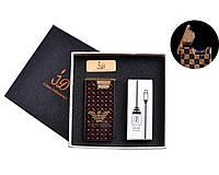 USB зажигалка в подарочной упаковке (Электроимпульсная) №4767-3 SO