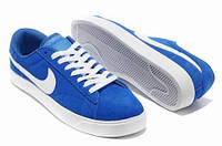 Кеды Nike Blazer Low Blue (Синие)