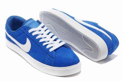 512abf106a1c Кеды Nike Blazer Low Blue Синие мужские - Интернет-магазин спортивной обуви  в Киеве и