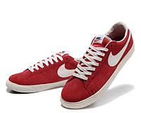 Кеды Nike Blazer Low Red (Красные)