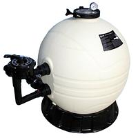 Песочный фильтр для бассейна Emaux MFS17; 7 м³/ч; боковое подключение