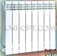 Алюминиевый радиатор отопления Diva 500/85