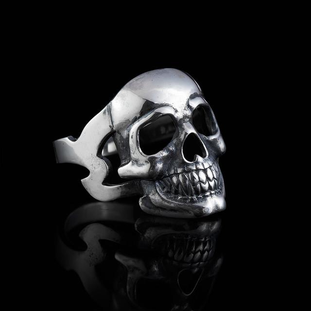Кольцо череп Skull картинка