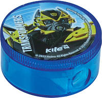 Точилка с контейнером круглая KITE 2015 Transformers 116 (TF15-116К)