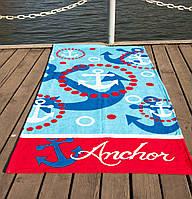 Полотенце пляжное велюр 75х150 Anchor Lotus
