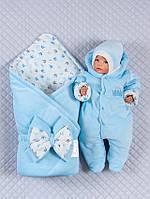 Нарядный комплект для новорожденного 3 предмета .