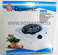 Переносная электрическая кухонная плитка (спиральная) - Domotec MS-5801 1000W