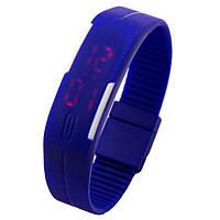 Спортивные часы Led 001 синие