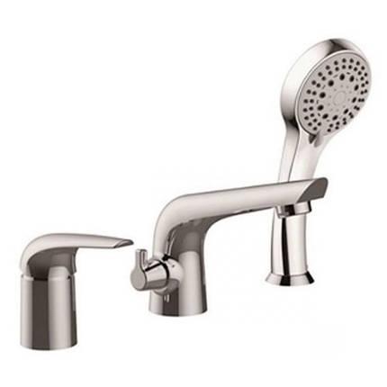 Imprese KRINICE смеситель для ванны, врезной, на три отверстия,  хром, 35 мм, фото 2