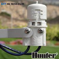 HUNTER,MINI-CLIK ,датчик дождя с регулировкой на 3-25 мм осадковдатчик дождя с регулировкой на 3-25