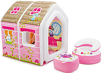 Игровой домик Принцессы Intex 48635 124х109х122 см
