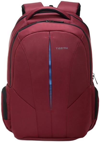 """рюкзак для ноутбука 15,3"""" Тigernu, красный с голубым, вместительный, с отделением для ноутбука, тигерну, тайгерну"""