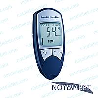 Глюкометр SensoLite Nova Plus (Сенсолайт Нова Плюс) набор