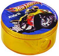 Точилка с контейнером круглая KITE 2013 Hot Wheels 116