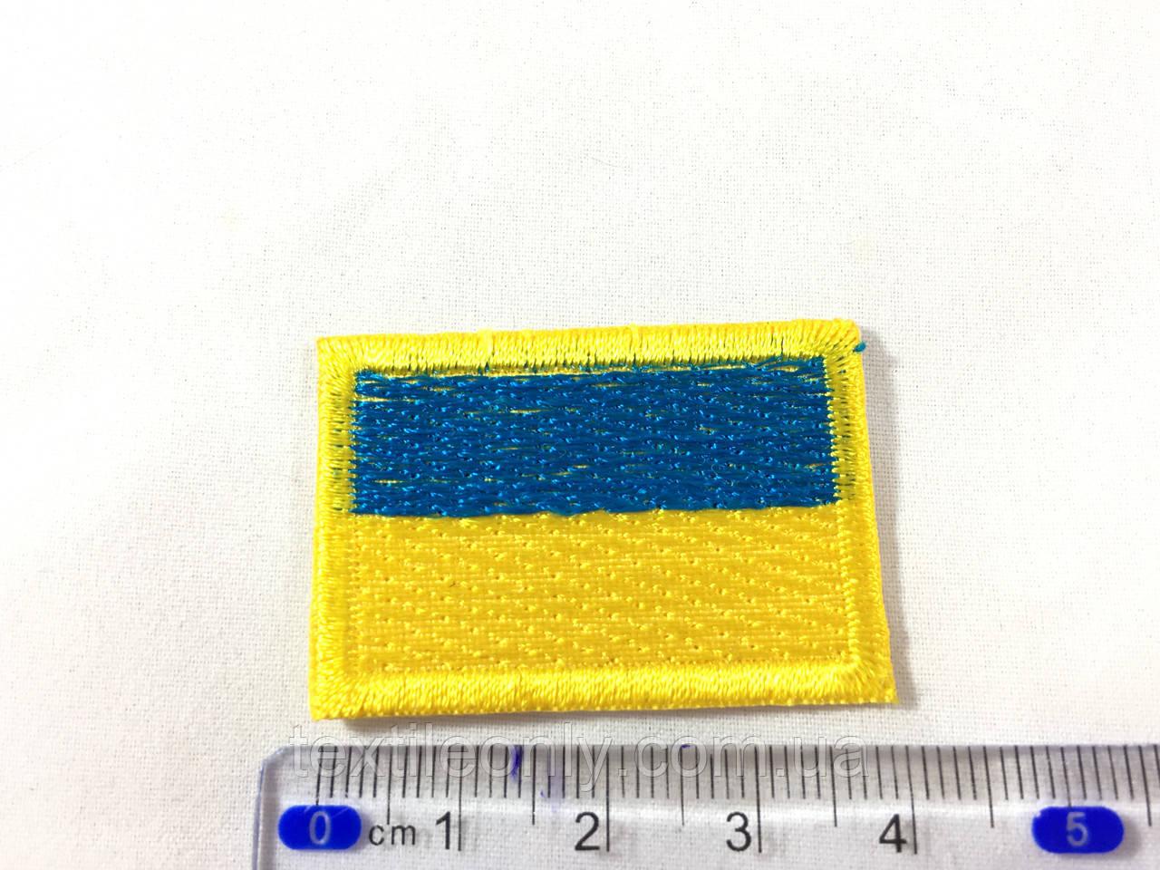Нашивка флаг Украина (Ukraine) 38х27 мм