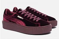 Кроссовки Puma x Rihanna Fenty Creeper Velvet Royal/Purple