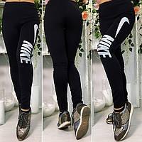 Женские черные лосины Nike