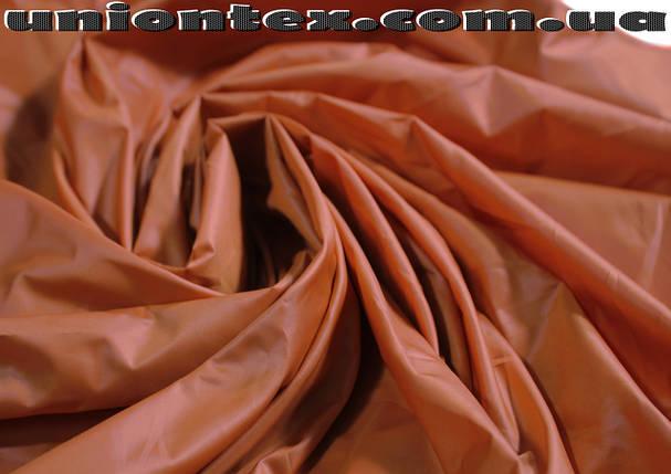 Плащевая ткань лаке терракотовая, фото 2