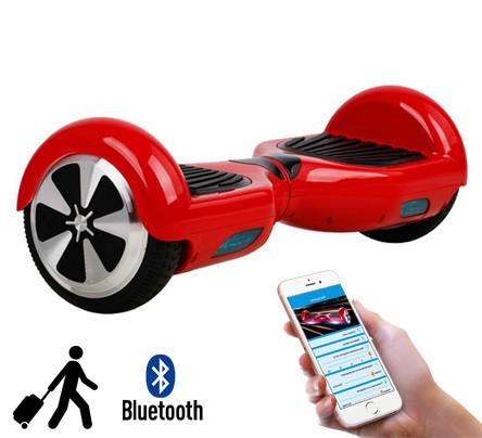 Гироскутер Smart Pro красный 6.5 дюймов, сумка в подарок (гироборд, ховерборд, segway) - btv.in.ua  в Луцке