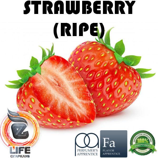 Ароматизатор TPA Strawberry (Ripe) Flavor (Спелая клубника)