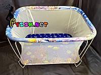 "Манеж детский с мелкой сеткой Kinderbox ""Аквариум"", фото 1"