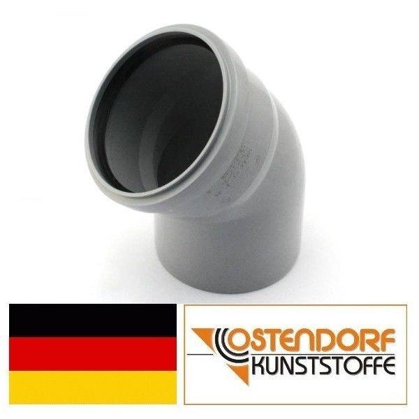 OSTENDORF (Германия), колено HTB 110х45, для внутренней канализации