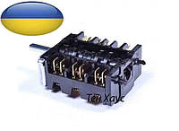 Позиционный переключатель 23866.500 для духовки электроплита Ardo и других Европейских плит, духовок