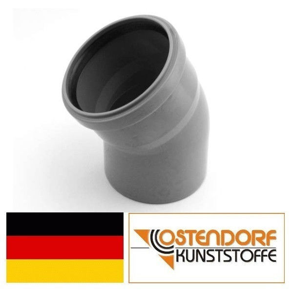 OSTENDORF (Германия), колено HTB 110х30, для внутренней канализации