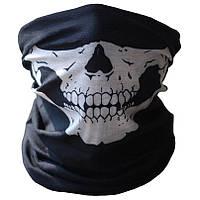 Полу балаклава, бафф, маска с черепом