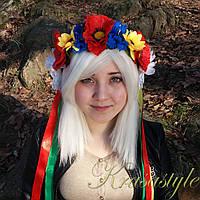 Традиційний український вінок Букет 2