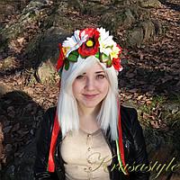 Традиційний український вінок Букет 7