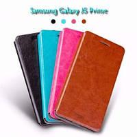 Кожаный чехол книжка MOFI для Samsung (Самсунг) Galaxy J2 Prime (4 цвета)