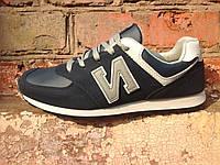 Кроссовки мужские DUAL белая подошва удобные спортивные M015