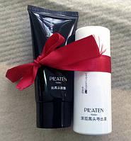 Набор Черная маска и подготовительный лосьон для лица Pilaten