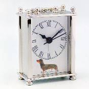 Часы с будильником с изображением Собаки