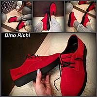 Удобные женские спортивные туфли красного цвета