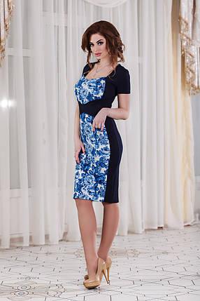 ДС443/1 Платье облегающее, фото 2