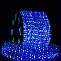 Дюралайт-лента LEMANSO 120LED IP68 синяя 2835SMD